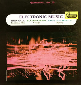 Used Vinyl John Cage/Luciano Berio/Ilhan Mimaroglu- Electronic Music (Sealed)