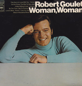 Used Vinyl Robert Goulet- Woman, Woman