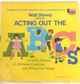 Used Vinyl Walt Disney's Acting Out The ABCs