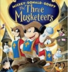 Used DVD The Three Musketeers
