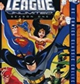 Used DVD Justice League Unlimited Season One
