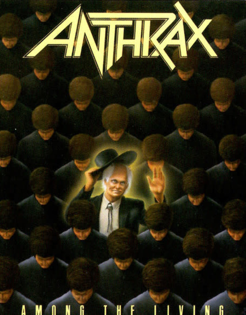 Used CD Anthrax- Among The Living
