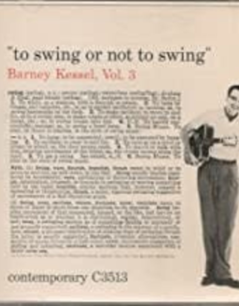 Used CD Barney Kessel- To Swing Or Not To Swing