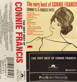 Used Cassette Connie Francis- The Very Best Of Connie Francis