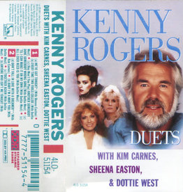 Used Cassette Kenny Rogers- Duets