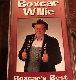 Used Cassette Boxcar Willie- Boxcar's Best