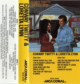 Used Cassette Conway Twitty & Loretta Lynn- Conway Twitty & Loretta Lynn