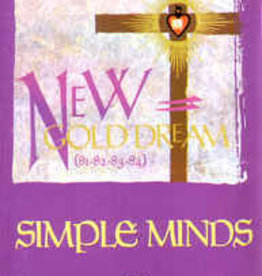 Used Cassette Simple Minds- New Gold Dream