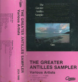 Used Cassette Various- The Greater Antilles Sampler