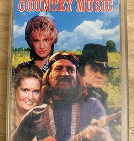 Used Cassette Various- The Best Of Country Music