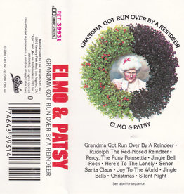 Used Cassette Elmo & Patsy- Grandma Got Run Over By A Reindeer