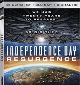 Used BluRay Independence Day Resurgence (4K)