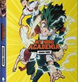 Used BluRay My Hero Academia Season Three