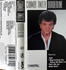 Used Cassette Conway Twitty- Borderline