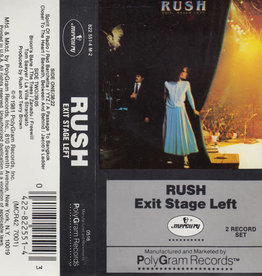 Used Cassette Rush- Exit Stage Left