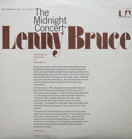 Used Vinyl Lenny Bruce- The Midnight Concert