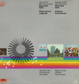 Used Vinyl Various- Games Of The XXI Olympiad Soundtrack