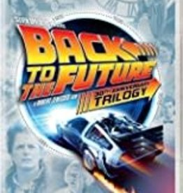 Used DVD Back To The Future 30th Anniversary Trilogy
