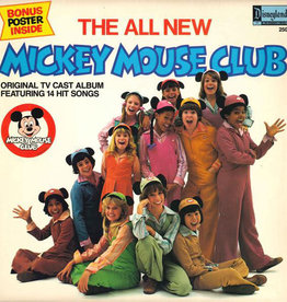 Used Vinyl The All New Mickey Mouse Club Soundtrack (w/Poster)