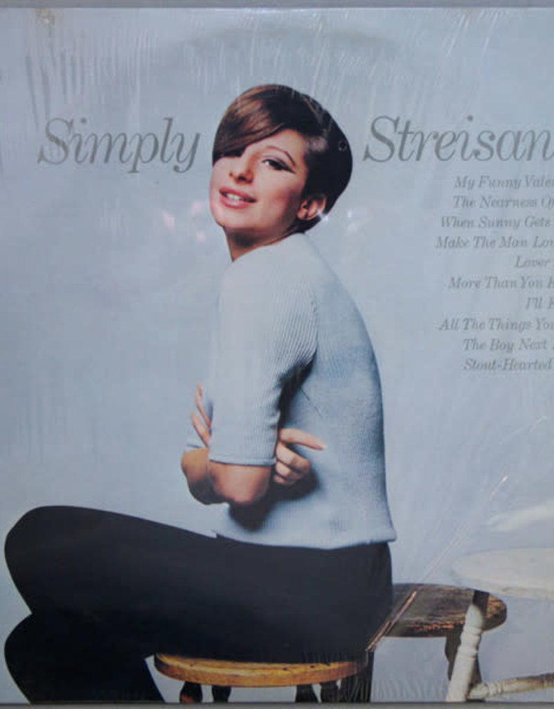 Used Vinyl Barbra Streisand- Simply Streisand