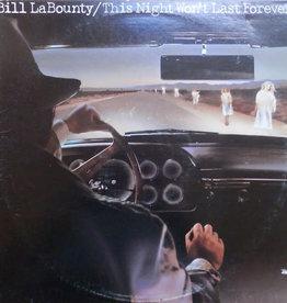 Used Vinyl Bill La Bounty- This Night Won't Last Forever (Sealed)