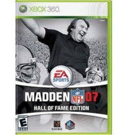 XBox 360 Madden 2007 [Hall of Fame Edition]
