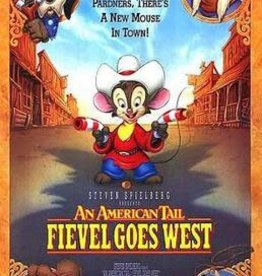 Used VHS An American Tale: Fievel Goes West