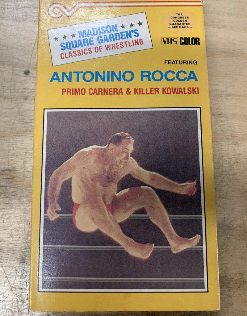 Used VHS Madison Square Garden's Classics of Wrestling: Antonino Rocca