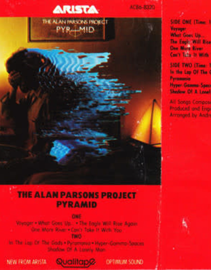 Used Cassette Alan Parsons Project- Pyramid