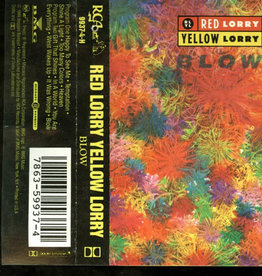Used Cassette Red Lorry Yellow Lorry- Blow