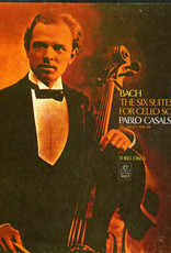 Used Vinyl Bach- Pablo Casals: The Six For Cello Solo
