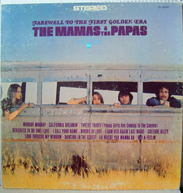 Used Vinyl Mamas & The Papas- Farewell To The First Golden Era