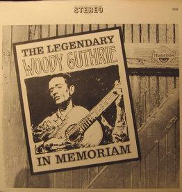Used Vinyl Woody Guthrie- In Memoriam