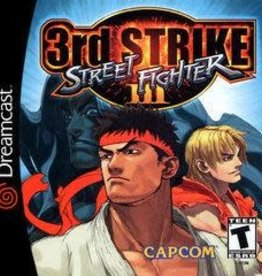 Sega Dreamcast Street Fighter III 3rd Strike: Fight for the Future
