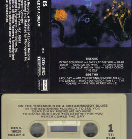 Used Cassette Moody Blues- On The Threshold Of A Dream