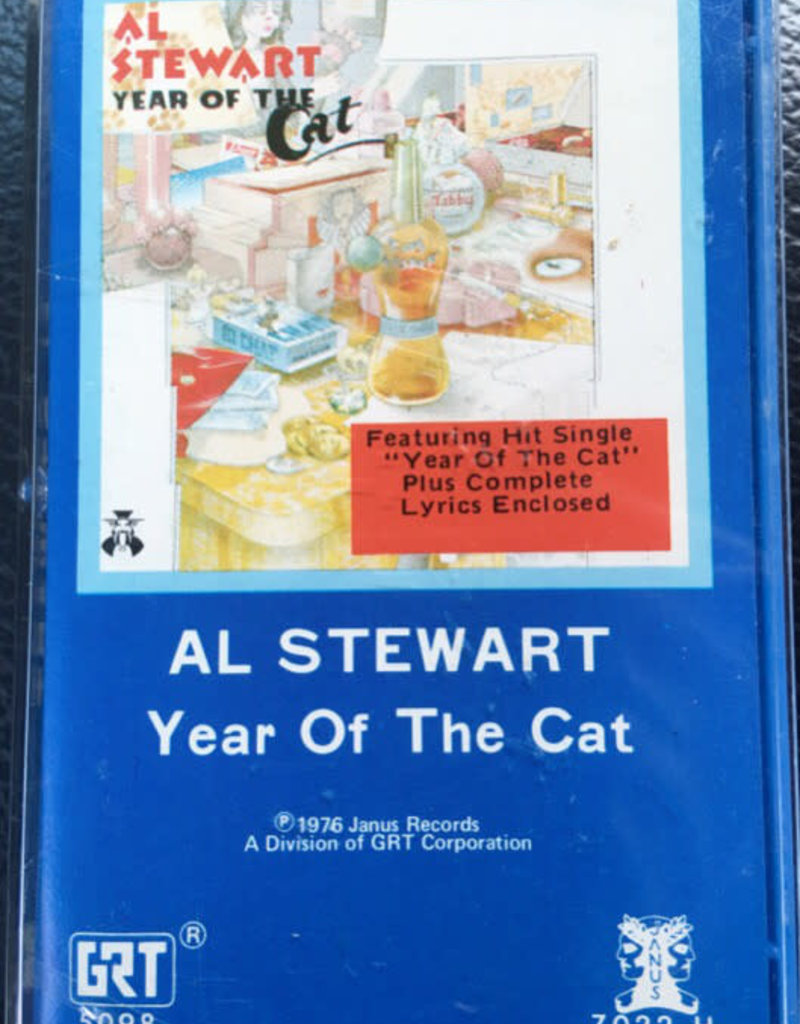 Used Cassette Al Stewart- Year Of The Cat