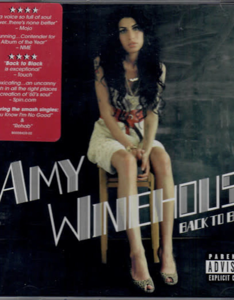 Used CD Amy Winehouse- Back To Black