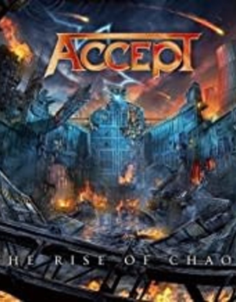 Used CD Accept- The Rise Of Chaos