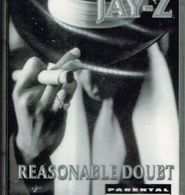 Used Cassette Jay-Z- Reasonable Doubt