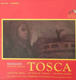 Used Vinyl Puccini- Tosca (Highlights)