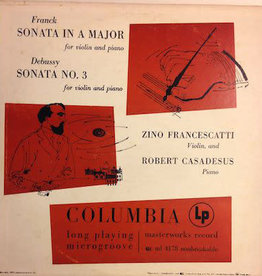 Used Vinyl Franck/ Debussy- Sonata In A Minor/ Sonata No. 3