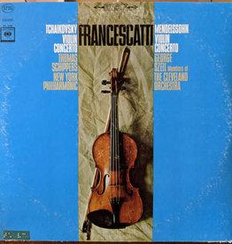 Used Vinyl Tchaikovsky/ Mendelssohn- Violin Concerto