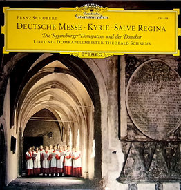 Used Vinyl Franz Schubert- Deutsche Messe/ Kyrie/ Salve Regina