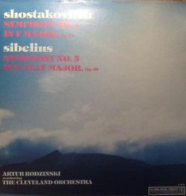 Used Vinyl Shostakovitch/ Sibelius- Symphony No. 1 In F Major/ Symphony No. 5 In E Flat Major, Op. 82