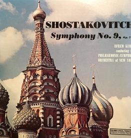 Used Vinyl Shostakovitch- Symphony No. 9, Op. 70