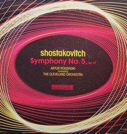 Used Vinyl Shostakovitch- Symphony No.5, Op 47