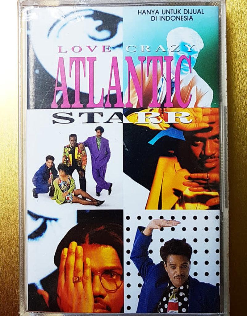 Used Cassette Atlantic Starr- Love Crazy