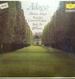 Used Vinyl Various- Adagio
