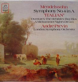 Used Vinyl Mendelssohn- Symphony No. 4 In A
