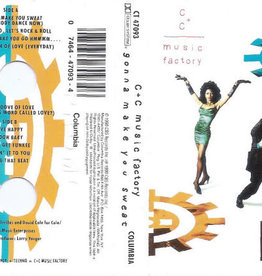 Used Cassette C+C Music Factory- Gonna Make You Sweat